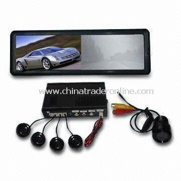 TFT Video 7-inch Monitor Parking Sensor System with Camera and Direction Indicator from China