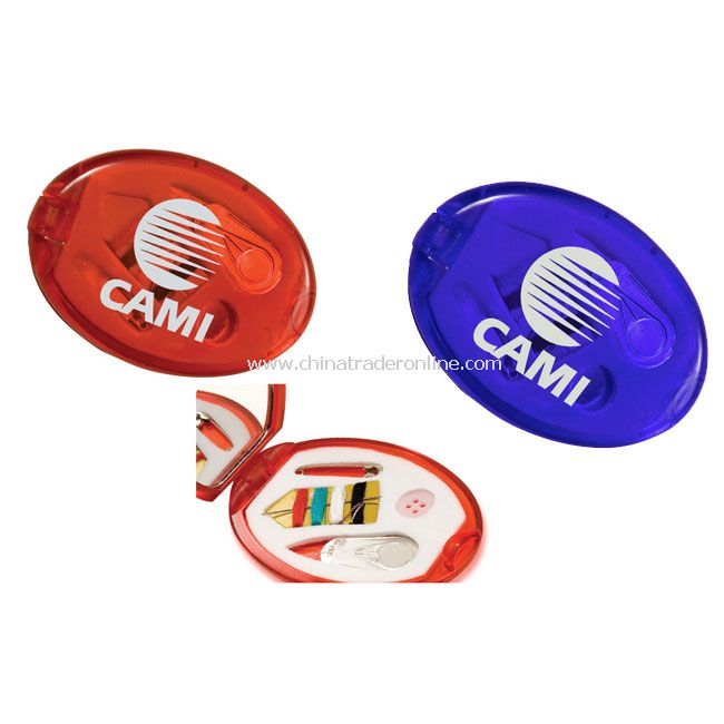 Compact Mirror w/8 Item Sewing Kit from China