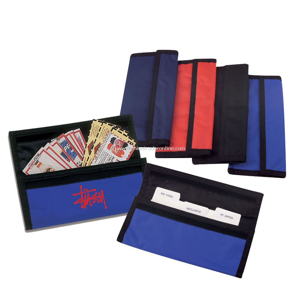Coupon Wallet w/ Twelve Dividers