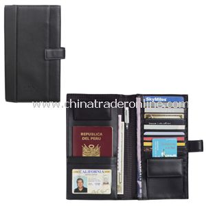 Palazzo Leather Travel Wallet