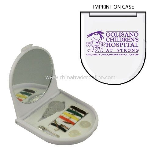 Sewing Kit w/Mirror from China