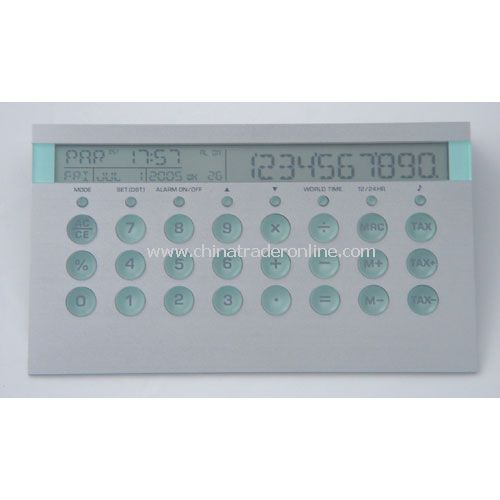 DELUXE CALCULATOR CLOCK
