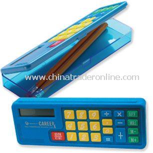 Pencil Box with Big Key Calculator