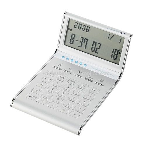 SILVER DESK TOP CALCULATOR