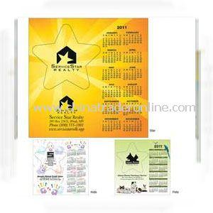 Star Frame Calendar Magnet
