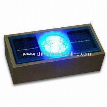 Solar Stars Brick with Single Color Light