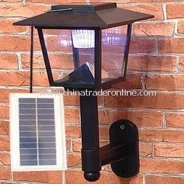 Solar Wall Lamp/Outdoor Light with 3.6V/1900mAh Battery Lifespan
