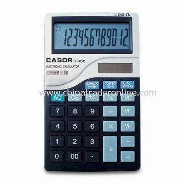 Handheld Calculator with UPS Power