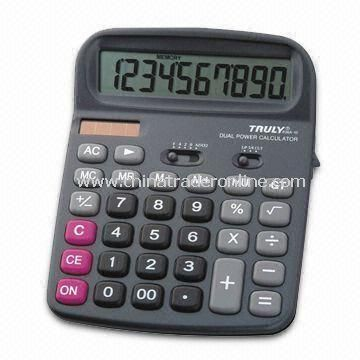12-digit Calculator with Automatic Power-off