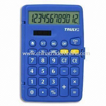 12-digit Calculator with Euro Conversion