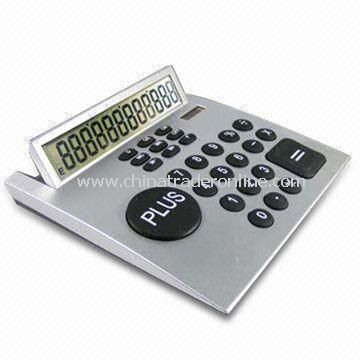 12 Digit Desktop Calculator with AG10 Battery