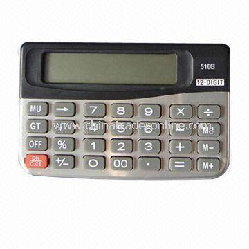 12 Digits Handheld Calculator