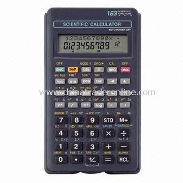 183 Functions Scientific Calculator with Slider Plastic Cover