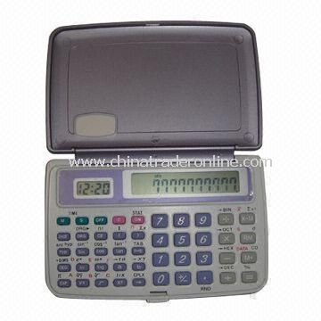 56 Functions Scientific Calculator with Rotatable Plastic Cover