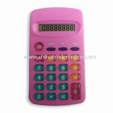 Eight-digit Handheld Calculator