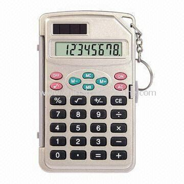 Eight Digits Handheld Calculator
