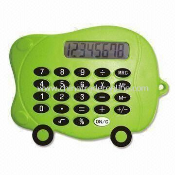 Promotional Handheld Mini Calculator in Car Shape
