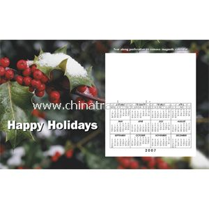 Perfed Postcard Holiday Holly