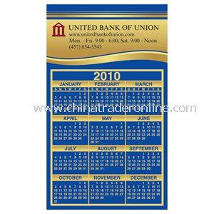 Magnetic Square Corner Calendar