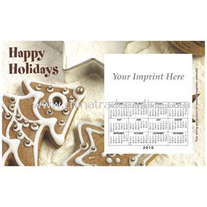 Perfed Postcard Holiday Cookies