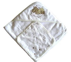 Baby Apron Bath Towels