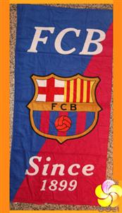 FCB BARCELONA FOOTBALL CLUB SOCCER BEACH TOWEL