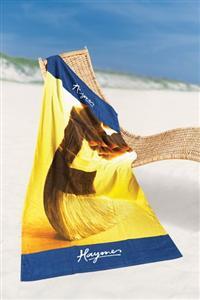 Fiber Reactive Print Beach Towels