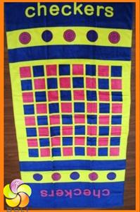 Game beach towel from China