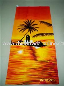 Screen Printed Beach Towels