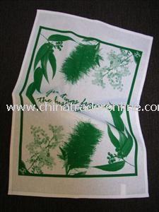 Screen Printed Tea Towel from China