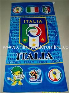 Sports beach towels from China