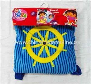 Terry Beach Towel Bag from China