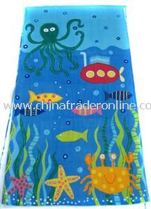 Terry Velour Beach Towels