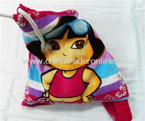 Velour Beach Towel Bag from China