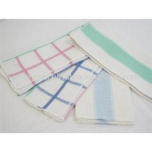 Yarn-Dyed Tea Towels