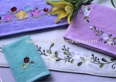 Embroidery  towels B