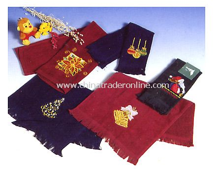 Embroidery  towels F1