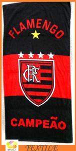 Football club beach towel