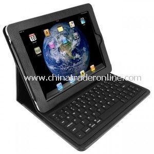KeyCase iPad Folio Deluxe with Bluetooth Keyboard - Black