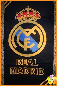 Real madrid foot club beach towel