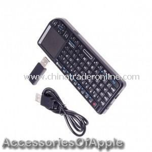 World Most mini 2.4GHz Wireless Rii Mini Keyboard Mouse Presenter Combo