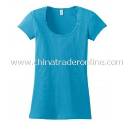 District Threads Junior Ladies 2x1 Scoop Tee
