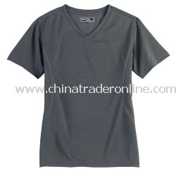 Dri-Mesh Ladies V-Neck T-Shirt