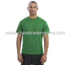 Dry Zone Short Sleeve Raglan T-Shirt from China