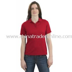 Ladies Bamboo Blend Pique Sport Shirt