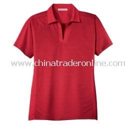 Ladies Dry Zone Horizontal Texture Sport Shirt