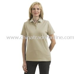 Ladies Pima Select Sport Shirt with Trim from China