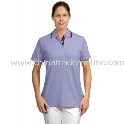 Ladies Rapid Dry Sport Shirt with Contrast Trim from China