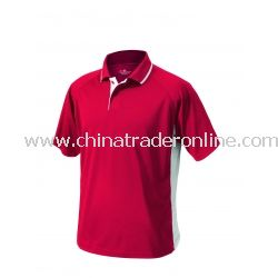 Mens Color Blocked Wicking Polo from China