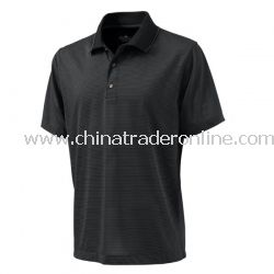 Mens micro stripe polo from China
